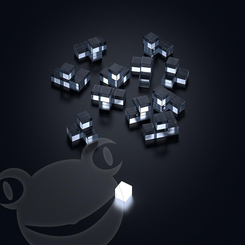 Leuchtwürfel