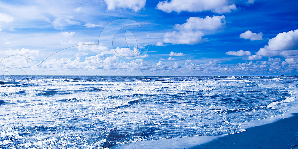 Nordsee Blau