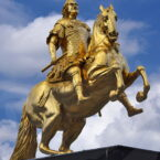 Goldener Reiter, Dresden